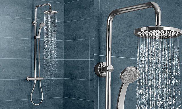 Installer colonne de douche