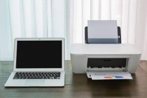 dépanner une imprimante en pause
